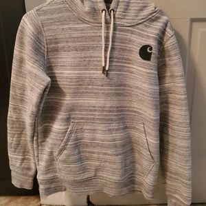 Carhartt hoodie rare heathered grey secret pocket